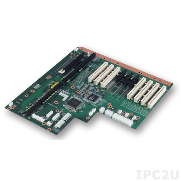 PCE-5B12-07A1E Объединительная плата PICMG 1.3, 12 слотов, 1xPICMG 1.3, 7xPCI, 1xPCI Express x16, 4xPCIe x4