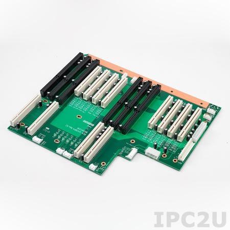 PCA-6113DP4-0A2E Объединительная плата PICMG, 2 сегмента, 13 слотов с 4xPICMG, 2xISA, 7xPCI