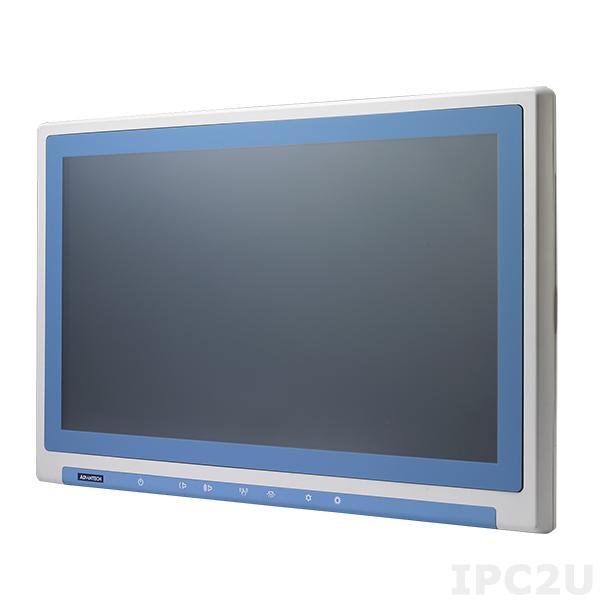 "POC-WP213-A11D-ACE Безвентиляторная медицинская рабочая станция 21.5"" TFT LCD LED, емкостный сенсорный экран, Intel Core i7-6600U 2.6ГГц, 4Гб DDR4, 1x2.5"" SATA, DP, HDMI, 2xCOM, 4xUSB, 2xLAN, 1xPCIe, 2xMini PCIe (1x mSATA), Аудио, питание 100-240В AC"