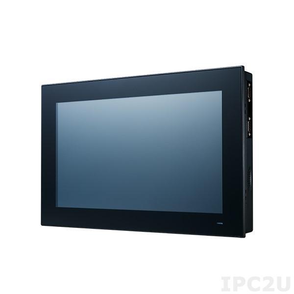 "PPC-3151W-P75A Безвентиляторная панельная рабочая станция с 15.6"", емкостный экран, Intel Core i5-7300U 2.6ГГц, слот 1xSO-DIMM DDR4 (до 16Гб), отсек 1x2.5"" SATA, M.2, VGA, DisplayPort, 2xGbE LAN, 3xCOM, 4xUSB 3.0, 1xMiniPCIe, PCIe x4, Audio, 9..32В DC"