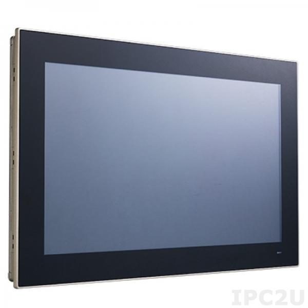 "PPC-3180SW-PN4A Панельная рабочая станция с 18.5"" TFT WXGA LED, проекционно-емкостный сенсорный экран, Intel Pentium N4200 1.1ГГц, DDR3L, HDMI, 2xGbE LAN, 2xCOM, 2xUSB 3.0, 2xUSB 2.0, отсек 2.5"" SATA, mSATA, MiniPCIe, Audio"