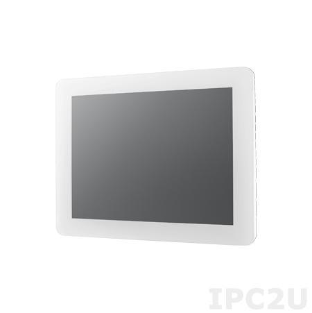 """IDP31-104-P40DVW1E 10.4"""" LCD 800 x 600 промышленный монитор ProFlat, IP54 по передней панели, 400нит, VGA, DVI, вход питания 12В DC, проекционно-емкостный сенсорный экран (USB)"""