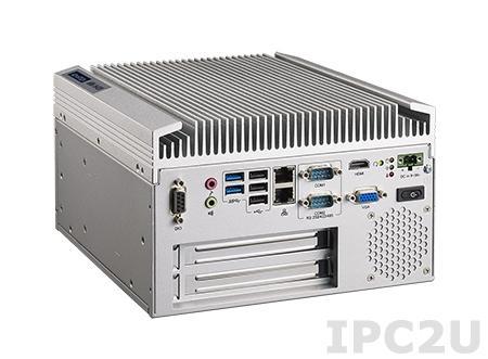 "ARK-5420-U5A1E Компактный компьютер с Intel Intel Core i7-3555LE+HM76, 4Гб DDR3 SODIMM, VGA, HDMI, 2xLAN, 2xCOM, 2xUSB 3.0, 3xUSB 2.0, 8xDIO, 1xPCI, 2xPCIe x4, 1 x Full size Mini-PCIe, Audio, отсек 1x 2.5"" SATA, питание 9...36В DC"