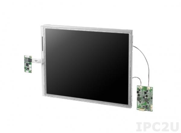 "IDK-2115N-K2XGB2 15"" LCD 1024 x 768 Open Frame дисплей LED, 1200нит, LVDS"