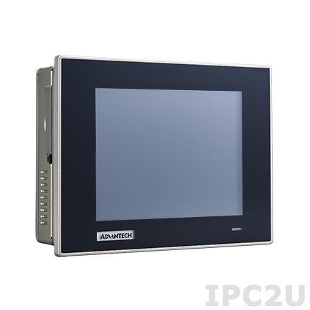 """TPC-651T-E3AE Безвентиляторная панельная рабочая станция с 5.7"""" TFT LCD, резистивный сенсорный экран, Intel Atom E3827 1.75ГГц, 4Гб DDR3L, CFast, 2xCOM, 2xUSB, 2xGbE LAN, питание 24В DC"""