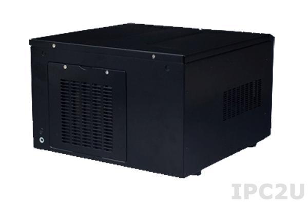 """ARK-6610-18ZBE Компактный встраиваемый корпус для материнской платы Mini-ITX, 1x3.5"""", 1xslim 5.25"""", источник питания 180Вт"""