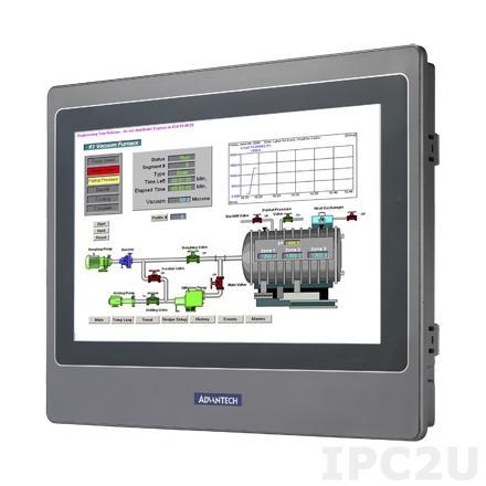 "WOP-2100T-S2AE Панель оператора с WSVGA TFT дисплеем 10.1"", процессором RISC 200МГц, 64MB, Ethernet, Micro-SD, IP65 по передней панели, 24VDC-in"