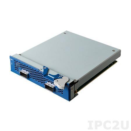 NMC-6002FD-02A1L Коммуникационный модуль NIC, 100GbE, 2 порта QSFP28