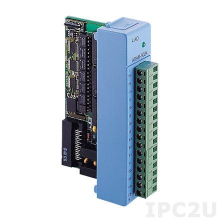 ADAM-5024-A2E Модуль вывода, 4 канала аналогового вывода
