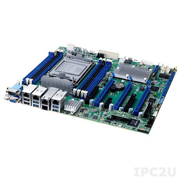 ASMB-816T2-00A1 Серверная процессорная плата ATX с поддержкой Intel 3rd Gen Xeon Scalable, чипсет Intel С621A, DDR4, VGA, 2xGbE LAN, 2x10 GbE LAN, 6xUSB 3.0, 6xUSB 2.0, 1xType-A USB 2.0, 8xSATA 3, 3xPCIe x16, 1xPCIe x8, 2xPCIe x4, 1xPCIe x1, Audio, IPMI
