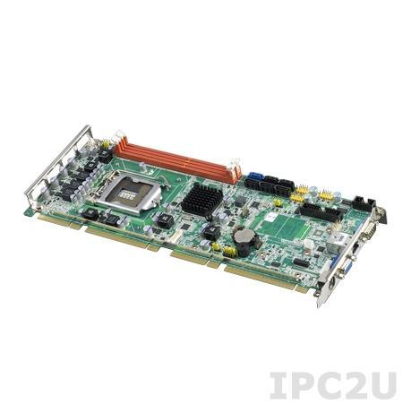 PCE-5126QVG-00A1E Процессорная плата PICMG 1.3, разъем LGA1155 для Intel Core i7/i5/i3, Intel B65, с DDR3, 2xGB LAN, 2xCOM, 9xUSB, SATA III
