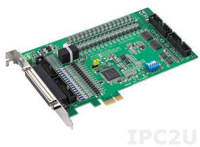 PCIE-1730-AE Плата ввода-вывода PCI Express, 32DI, 32DO