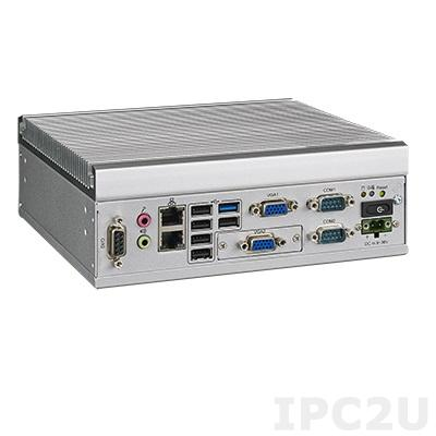 ITA-1611-10A1E Встраиваемый компьютер, Intel Celeron J1900 2.0ГГц, 4ГБ DDR3-1333 SODIMM до 8ГБ, 2xLAN,1xmSATA, 2xCOM, 1xPS/2, 6xUSB, 1xGPIO, 2xVGA, 1xMini PCIe