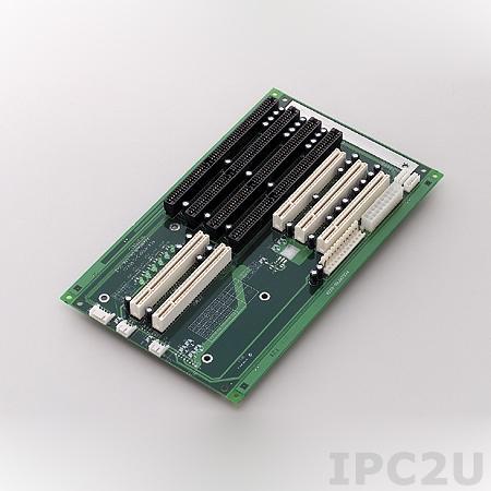 PCA-6106P3-0D2E Объединительная плата PICMG, 7 слотов с 2xPCIMG, 3xPCI, 2xISA