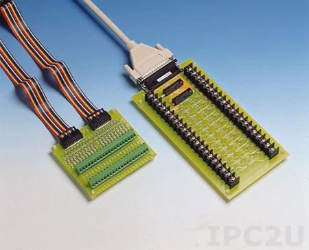 PCLD-880-AE Плата клеммников с 2 разъемами IDC-20 и разъемом DB-37