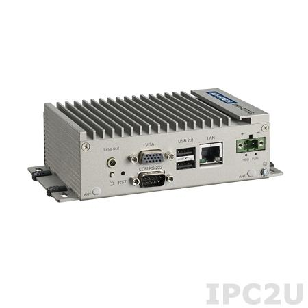UNO-2272G-N2AE Встраиваемый компьютер c Intel Atom N2800 1.86ГГц, 2Гб DDR3 RAM, VGA, HDMI, 1xGbE, 1xCOM, 3xUSB 2.0, 2x mPCIe, Audio