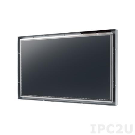 """IDS31-185WP30DVA1E 18.5"""" LCD 1366 x 768 Open Frame дисплей, 300нит, VGA, DVI-D, вход питания 12В DC, экранное меню, проекционно-емкостной сенсорный экран (RS-232/USB)"""