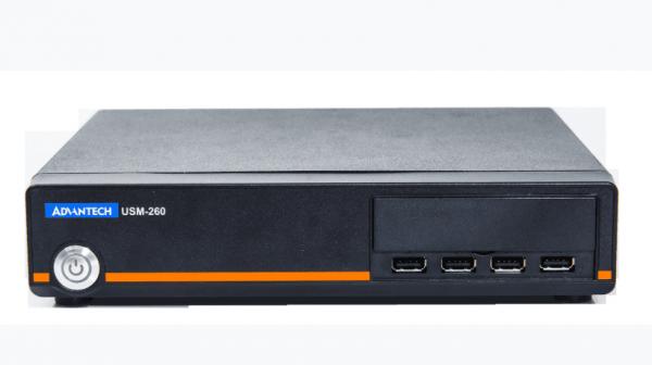 """USM-260F-BFL00 Встраиваемый компьютер с сокетом LGA1151 для Intel Core i3/i5/i7 35Вт (с вентилятором) 6 и 7 поколения, до 32Гб DDR4 RAM, VGA, HDMI, DP, 2xGbE LAN, 4xCOM, 8xUSB, отсеки 2x2.5"""" SATA, 2xMini-PCIe, 19В DC, 0...50C"""