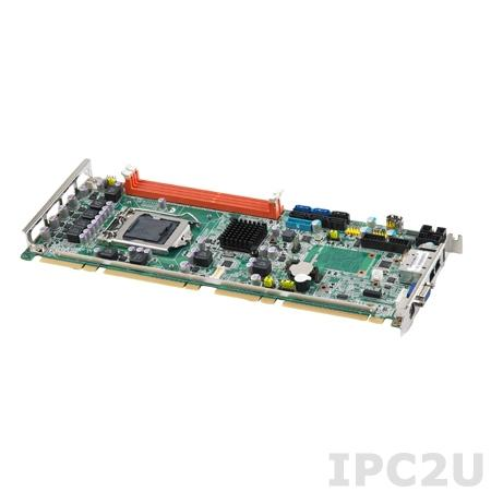 PCE-5127G2-00A1E Процессорная плата PICMG 1.3/Q77/LGA1155 для Intel Core i7/i5/i7, до 16Гб DDR3/VGA/2xCOM/2xGb Ethernet/SATA 3.0/USB3.0