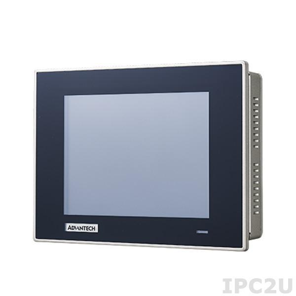 """TPC-651T-6E3AE Безвентиляторная панельная рабочая станция с 6.5"""" TFT LCD, резистивный сенсорный экран, Intel Atom E3827 1.75ГГц, 4Гб DDR3L, CFast, 2xCOM, 2xUSB, 2xGbE LAN, питание 24В DC"""