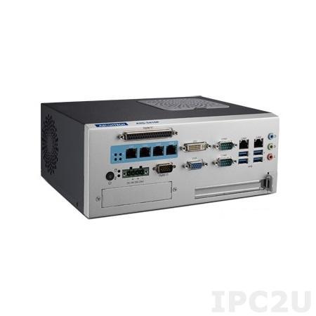 """AIIS-3410P-00A1E Компактный компьютер с сокетом LGA1151 для Intel 6th gen. Core i, чипсет Intel H110, DDR4, VGA, DVI-D, 2xGB LAN, 2xCOM, 4xPoE, 4xUSB 3.0, CFast, отсек 1xSATA 2.5"""", 4DI/4DO"""