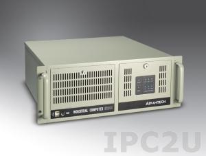 """IPC-610BP-00XHE 19"""" корпус 4U, отсеки 3x5.25"""", 2x3.5"""", 14 слотов расширения, без источника питания, без объединительной платы"""