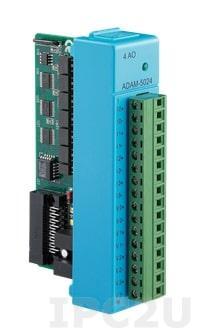 ADAM-E5024-AE 4-канальный модуль аналогового вывода, EtherCAT