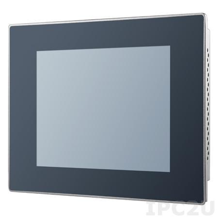 "PPC-3060S-N80AE Панельная рабочая станция с 6.5"" TFT VGA LED, резистивный сенсорный экран, Intel Celeron N2807 1.58ГГц, 1xDDR3L-1333 МГц, 1x2.5"" SATA, 1x mSATA, 2xCOM, 3xUSB, 2xGbE LAN, 1xMini PCIe, питание 12-24В DC"