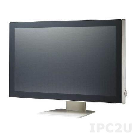 """PDC-W215-DC-BTE 21.5"""" LCD монитор LED, Full HD 1920 x 1080, 250 нит, IP65 по передней панели, проекционно-емкостной сенс. экран, разъемы Display port, audio/P-cap: USB, RS-232, VGA (15-pin Mini D-sub), питание DC-in, адаптер питания AC-DC"""