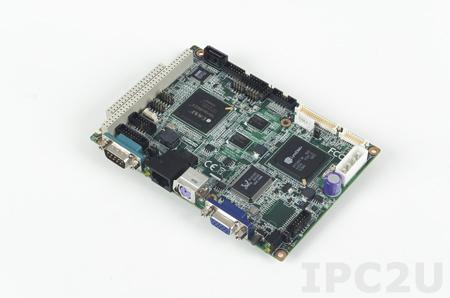 """PCM-9343EFG-S6A1E Процессорная плата формата 3.5"""" с DM&P Vortex86DX 800 МГц, 512Мб DDR2 RAM, VGA, LVDS, TTL, 2xLAN, 4xCOM, 4xUSB 2.0, LPT, GPIO, PC/104, I2C, SUSI 3.0, 0...+60C"""