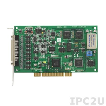 PCI-1747U-AE Плата ввода Universal PCI, 64SE/32D AI