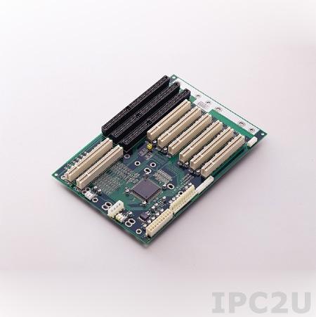 PCA-6108P6-0C1E Объединительная плата PICMG, 8 слотов с 2xPICMG/1xISA/5xPCI