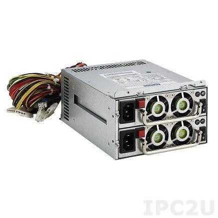 RPS8-350ATX-XE Дублированный 2U Mini Redundant (1+1) источник питания ATX 350Вт с PFC, вход 100...240В AC