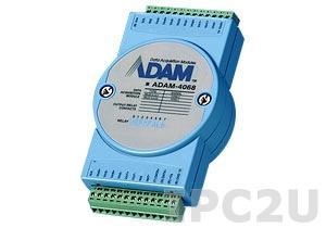 ADAM-4068-BE Модуль вывода, 8 каналов дискретного вывода с реле, Modbus RTU/ASCII