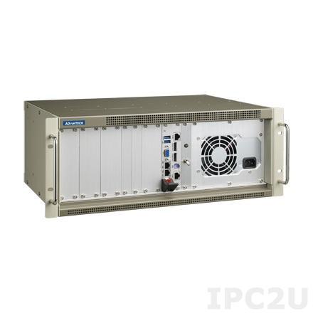 "MIC-3121-H1-AE 19"" компьютер 4U CompactPCI, проц. плата MIC-3328 с процессором 3217UE, DDR3, VGA, 2xDP, 2xGB LAN, 2xCOM, 2xUSB 3.0, источник питания 300Вт ATX"