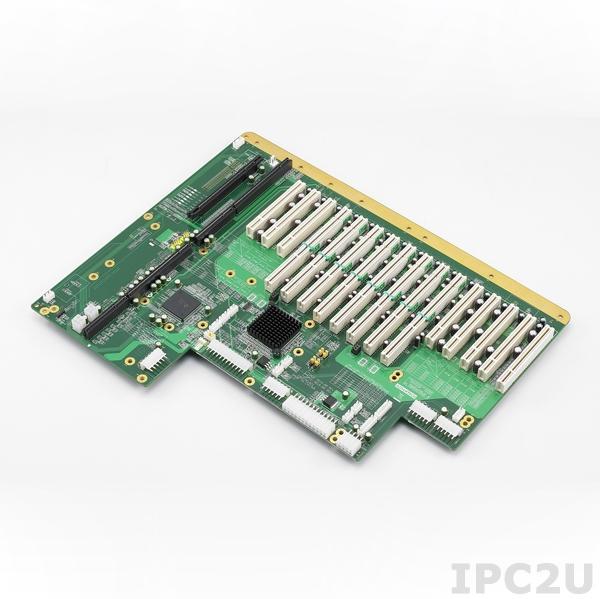 PCE-5B18-88A1E Объединительная плата PICMG 1.3, 18 слотов, 1xPICMG 1.3, 8xPCI, 1xPCIe x16, 8xPCI-X