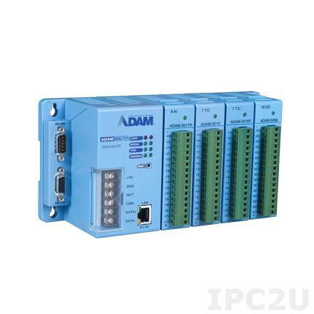 ADAM-5000L/TCP-BE Корзина расширения для модулей ADAM-5000, 4 слота, Ethernet