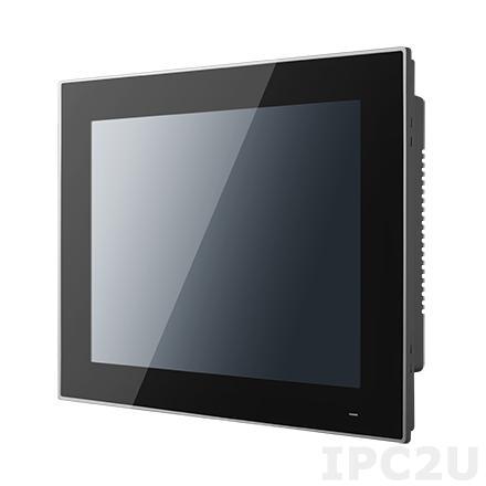 "PPC-3120S-RAE Панельная рабочая станция с 12.1"" TFT XGA LED, резистивный сенсорный экран, Intel Celeron N2930 1.83ГГц, 1xDDR3L-1333, mSATA, 2xGb LAN, 2xCOM, 3xUSB, 1xMini PCIe, питание 12-24В DC"