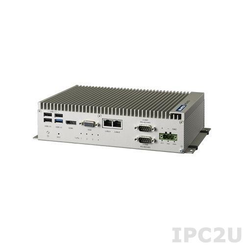 "UNO-2473G-E3AE Встрaиваемый компьютер с Intel Atom E3845 1.91ГГц, 4Гб DDR3L, VGA, HDMI, 4xGbE LAN, 2xRS-422/485, 2xRS-232, 4xUSB, Audio, отсек для 2.5"" SATA HDD, mSATA, 3xMini-PCIe, 24В DC"