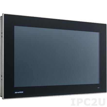 """FPM-215W-P4AE Промышленный 15.6"""" TFT LCD LED монитор, 1366x768, яркость 300 нит, проекционно-емкостный сенсорный экран (USB), HDMI, адаптeр питания 100-240В AC DC 60Вт, IP66 по передней панели"""