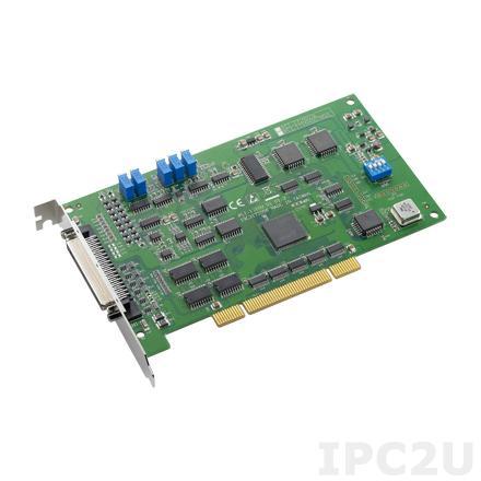 PCI-1710U-DE Плата ввода-вывода Universal PCI, 16SE/8D AI, 2AO, 16DI, 16DO