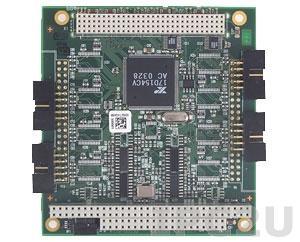 PCM-3644-04A1E PC/104+ адаптер 4xRS-232 разъем DB9 Male без изоляции