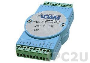 ADAM-4017-D2E Модуль ввода, 8 каналов аналогово ввода, Modbus ASCII
