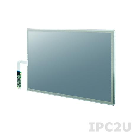 "IDK-2121WR-K2FHA2E 21,5"" LCD 1920 x 1080 Open Frame дисплей LED, 1200нит, резистивный сенсорный экран (RS-232/USB), 2xLVDS"