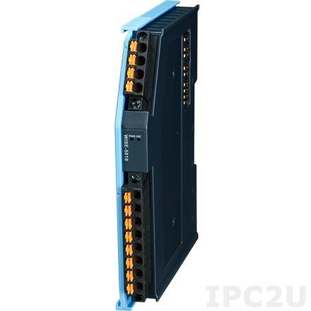 AMAX-5018-A Модуль ввода, 6 каналов ввода данных с термосопротивления, питание 24В DC
