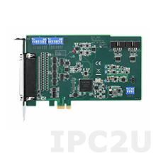 PCIE-1805-AE Плата ввода-вывода PCI Express, 32 канала аналогового ввода, 16-bit