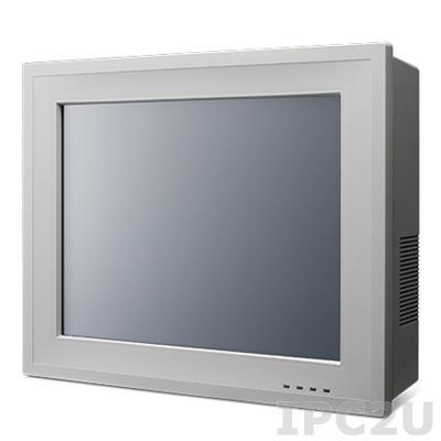 "PPC-6150-RC10AE Панельная рабочая станция с 15"" TFT LCD, резистивный экран, QM77, Intel Celeron1020E 2.2ГГц, до 8Гб DDR3, VGA, HDMI, 2xGb LAN, 4xCOM, 5xUSB, отсек 1x2.5"" HDD, 2xGB LAN, 1xPCI, 1xPCIe x1, 2xMini-PCIe, Audio, 100-240V AC"