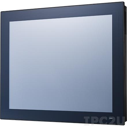 "PPC-3190-RE4BE Безвентиляторная панельная рабочая станция с 19"" TFT SXGA LCD LED, резистивный сенсорный экран, Intel Atom E3845 1.91ГГц, 1x204-pin DDR3L, 1x2.5"" SATA отсек, VGA, DP, 2xGbE LAN, 2xCOM, 1xUSB 3.0, 3xUSB 2.0, 1xPCI, Аудио, питание 9-32В DC"