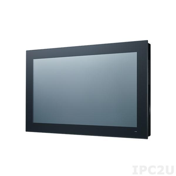 "PPC-3211W-P75A Безвентиляторная панельная рабочая станция с 21,5"", емкостный экран, Intel Core i5-7300U 2.6ГГц, слот 1xSO-DIMM DDR4 (до 16Гб), отсек 1x2.5"" SATA, M.2, VGA, DisplayPort, 2xGbE LAN, 3xCOM, 4xUSB 3.0, 1xMiniPCIe, PCIe x4, Audio, 9..32В DC"