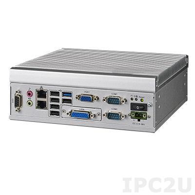 ITA-1611-20A1E Встраиваемый компьютер, Intel Celeron J1900 2.0ГГц, 4ГБ DDR3-1333 SODIMM до 8ГБ, 2xLAN,1xmSATA, 2xCOM, 1xPS/2, 6xUSB, 1xGPIO, 1xVGA, 1xLVDS, 1xMini PCIe